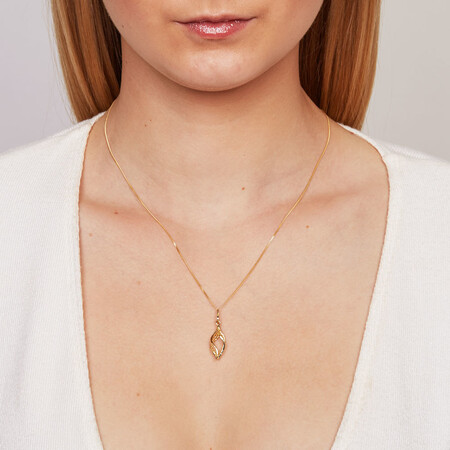 Pendant in 10kt Yellow Gold