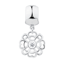 Sterling Silver Flower Stopper