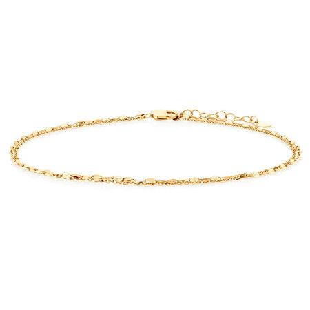 Multistrand Bracelet in 10kt Yellow Gold