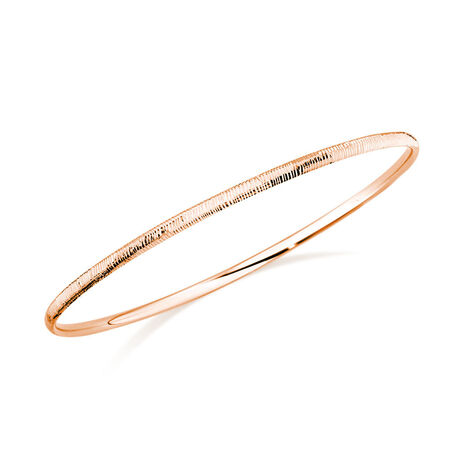 Bangle in 10kt Rose Gold