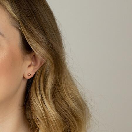 5mm Ball Stud Earrings in 10kt Rose Gold