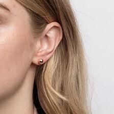 7mm Ball Stud Earrings in 10kt Rose Gold