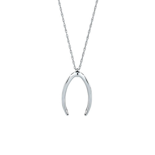 Small Mark Hill Pendant in Sterling Silver