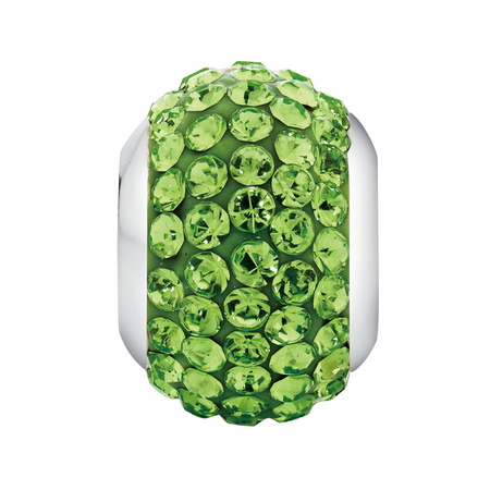 Green Crystal Charm
