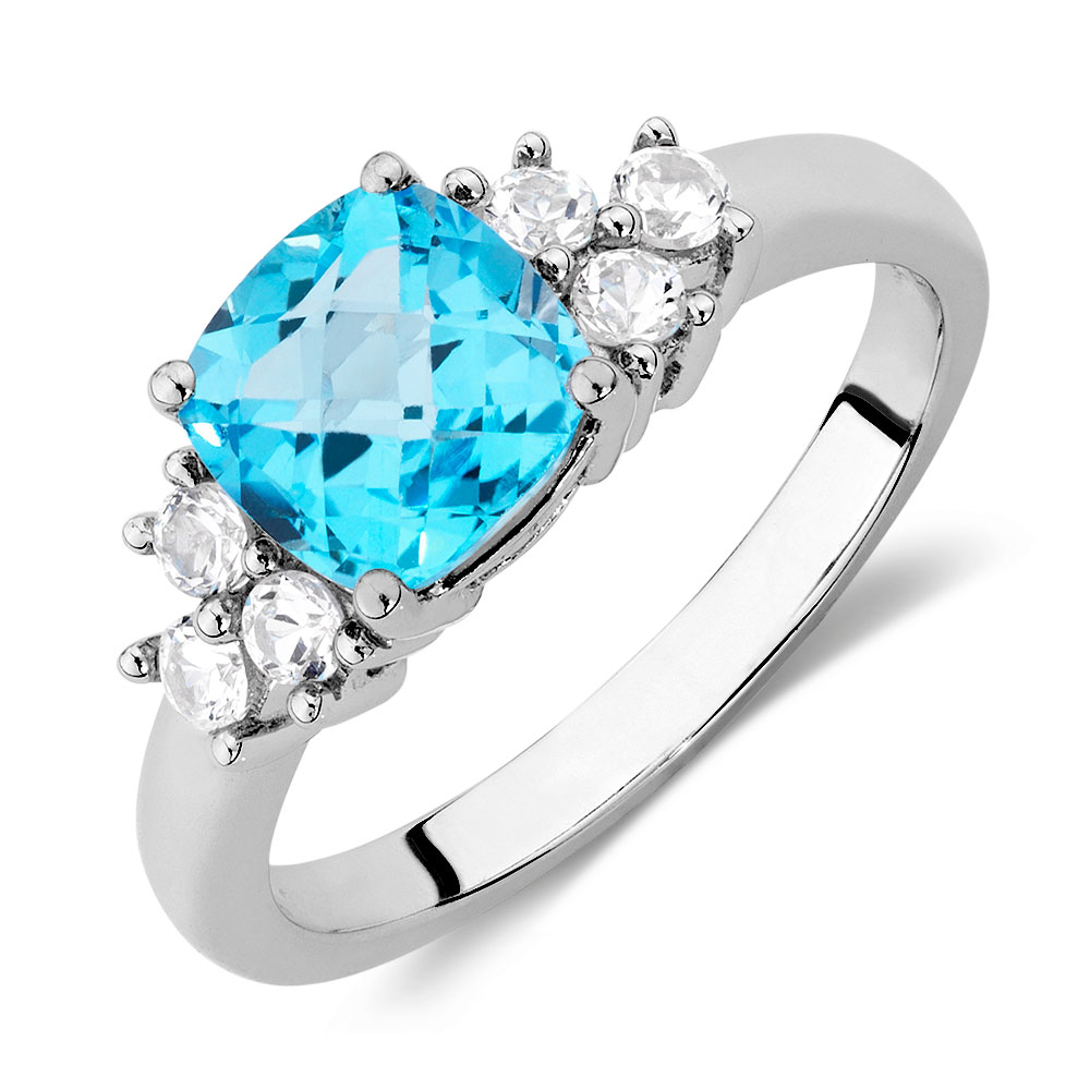yellow karen kloset blue topaz s gold p rings ring