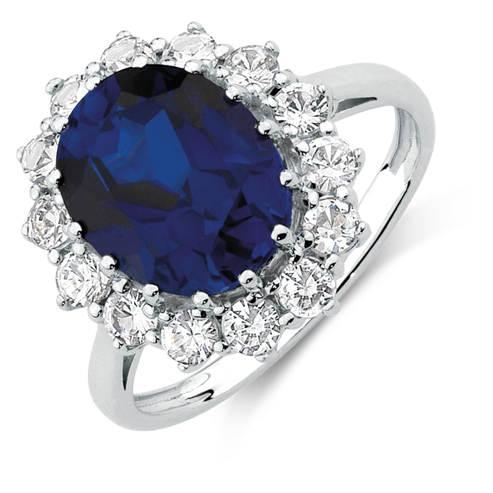 sapphire created com amazon blue sterling size and men s ring silver gents white dp