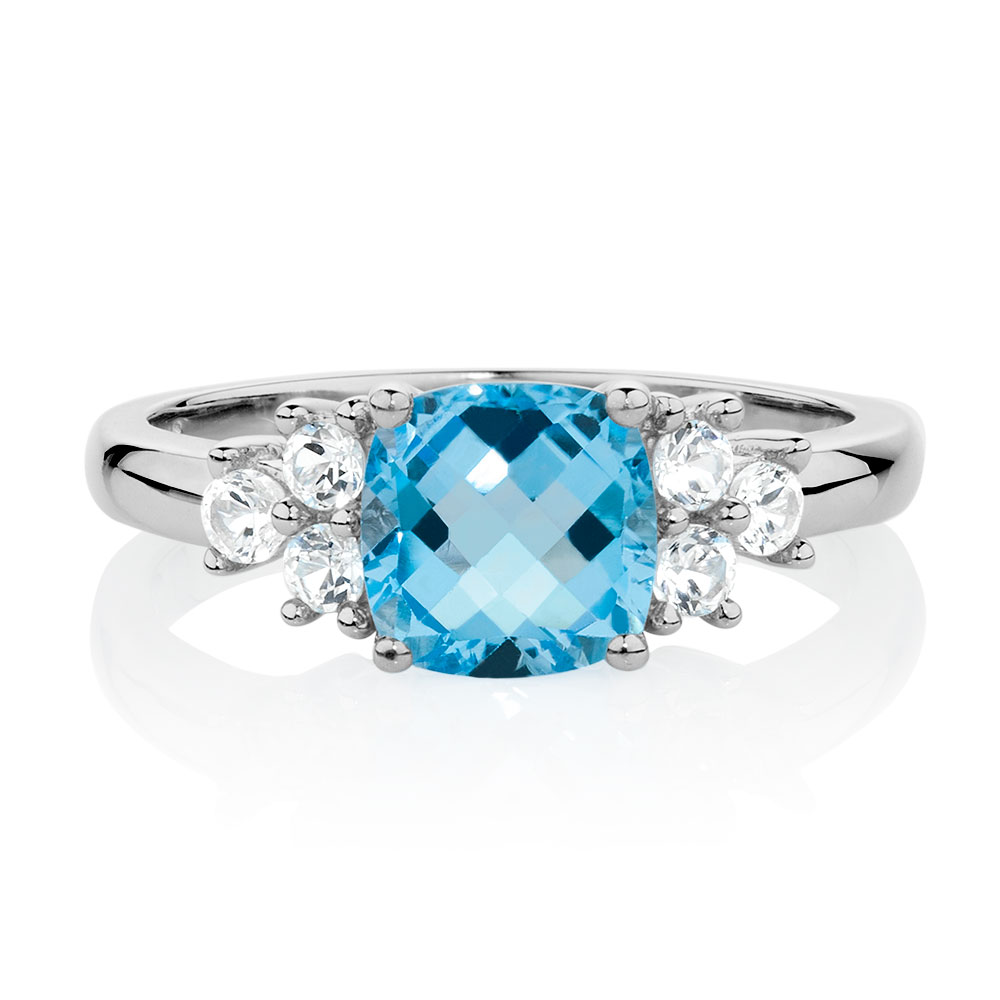 amp ring cubic topaz rings blue london in p zirconia gold white halo petite