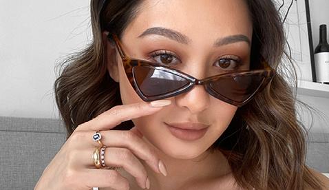 Monica's Sapphire and Diamond Yellow Gold Ring