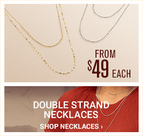 Double Strand Necklaces