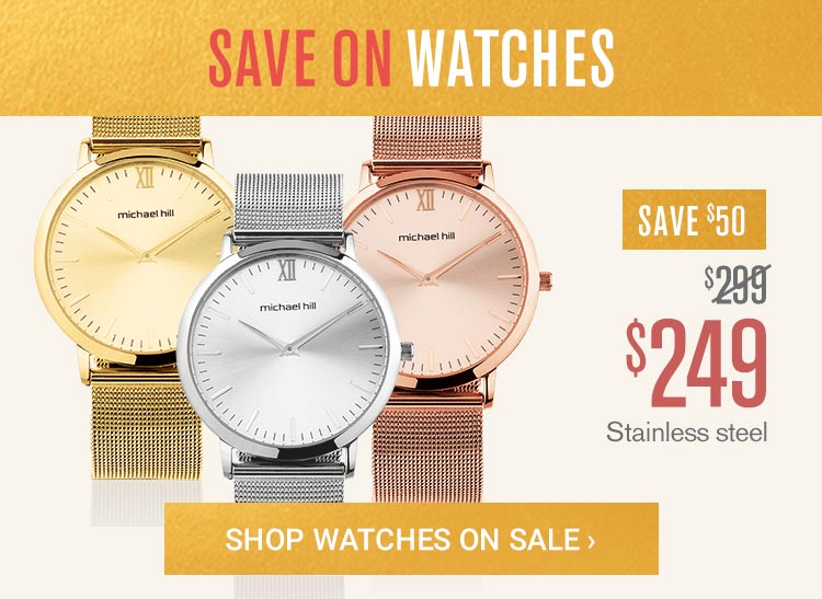 Save on Watches
